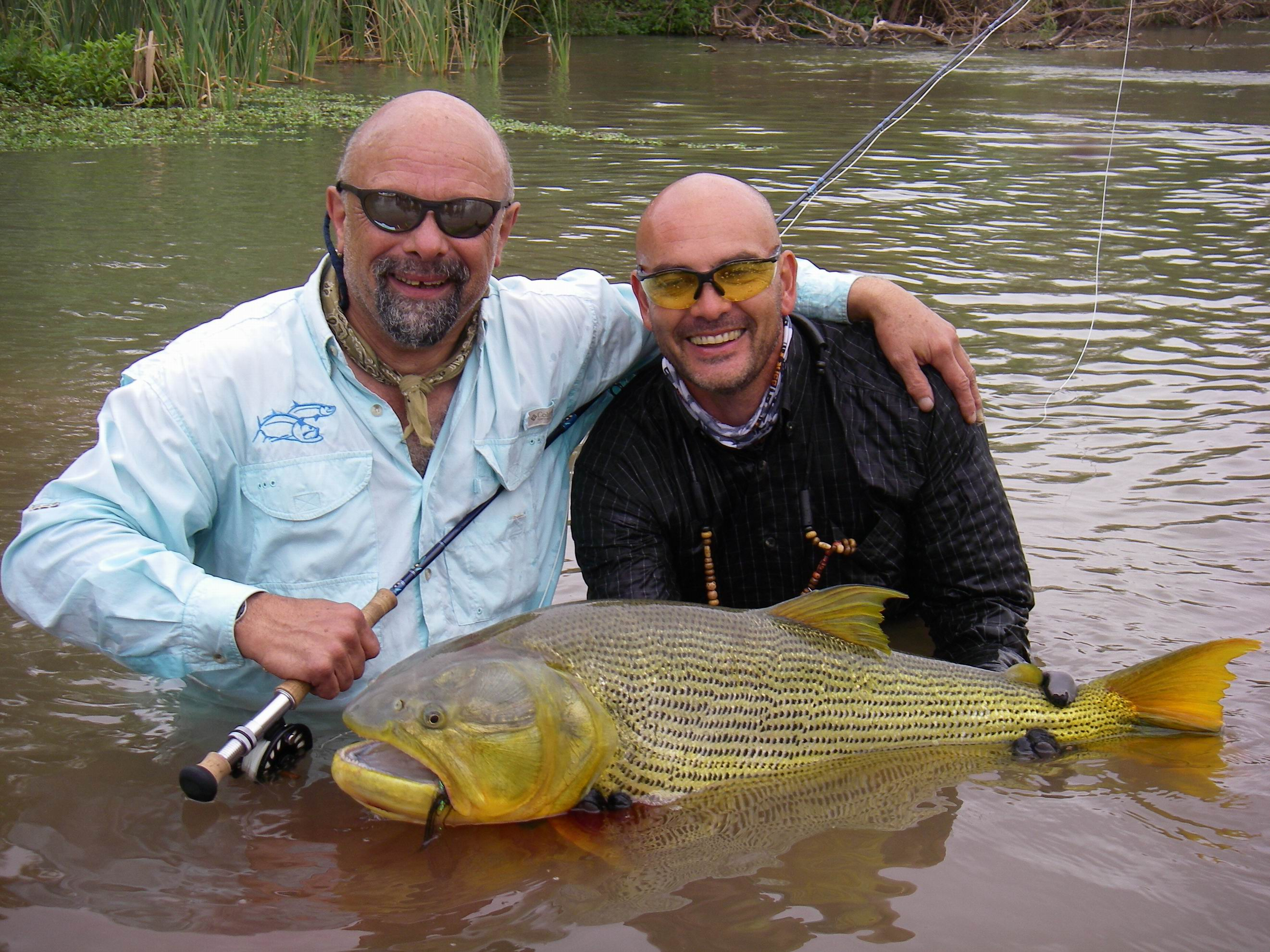 Faraway fly fishing blog archive huge golden dorado for Fishing in argentina