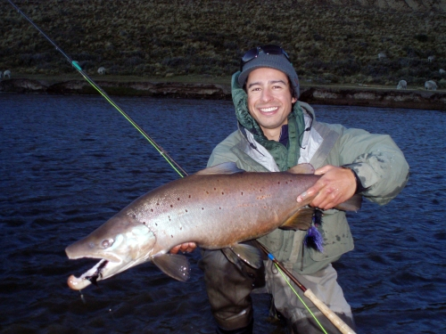 Photo by Pancho Panzer, owner/operator of Patagonia Fishing Hosts