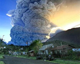 El Chaiten Eruption